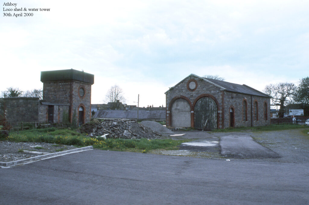 Athboy Co. Meath Water tower and Locomotive shed